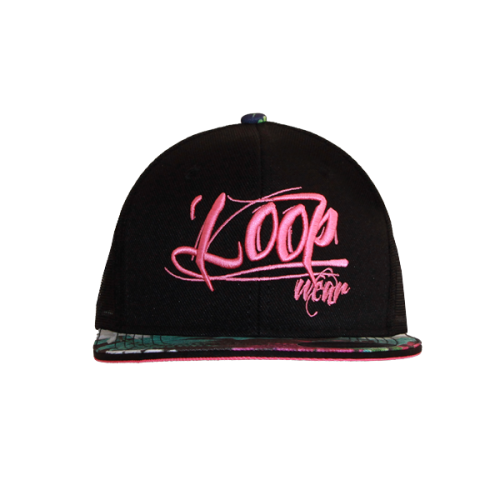 Floral Tap SnapTrucker