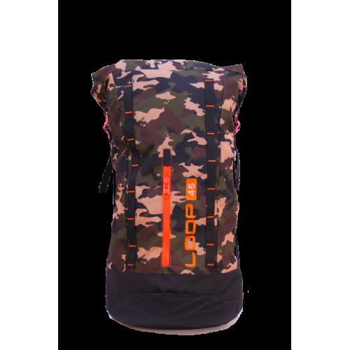 Rolling Bag  45L Camo Orange