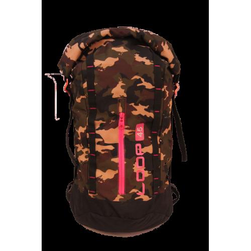 Rolling Bag  45L Camo Pink