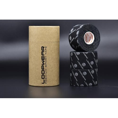Pack 3 Finger Tapes Black 3,8 x 10 m