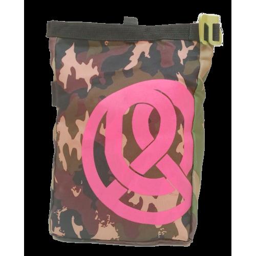 Buckle Boulderbag Camo Pink