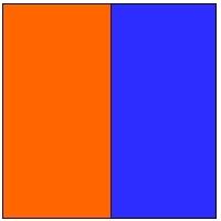 Naranja Azul
